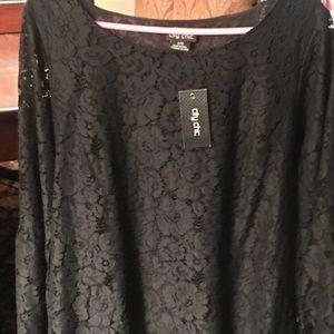 Lace women's blouse